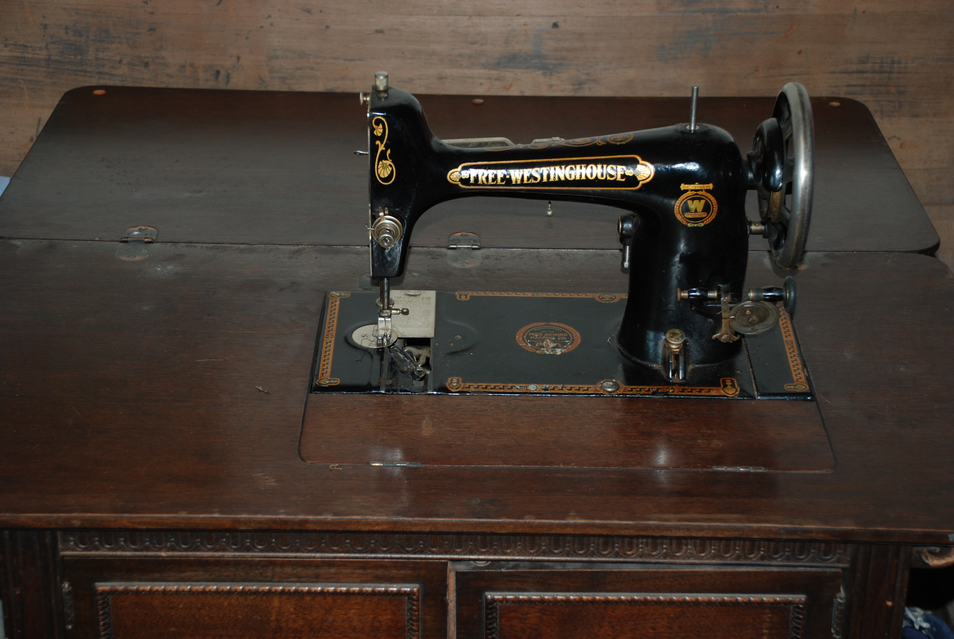 free westinghouse electric sewing machine