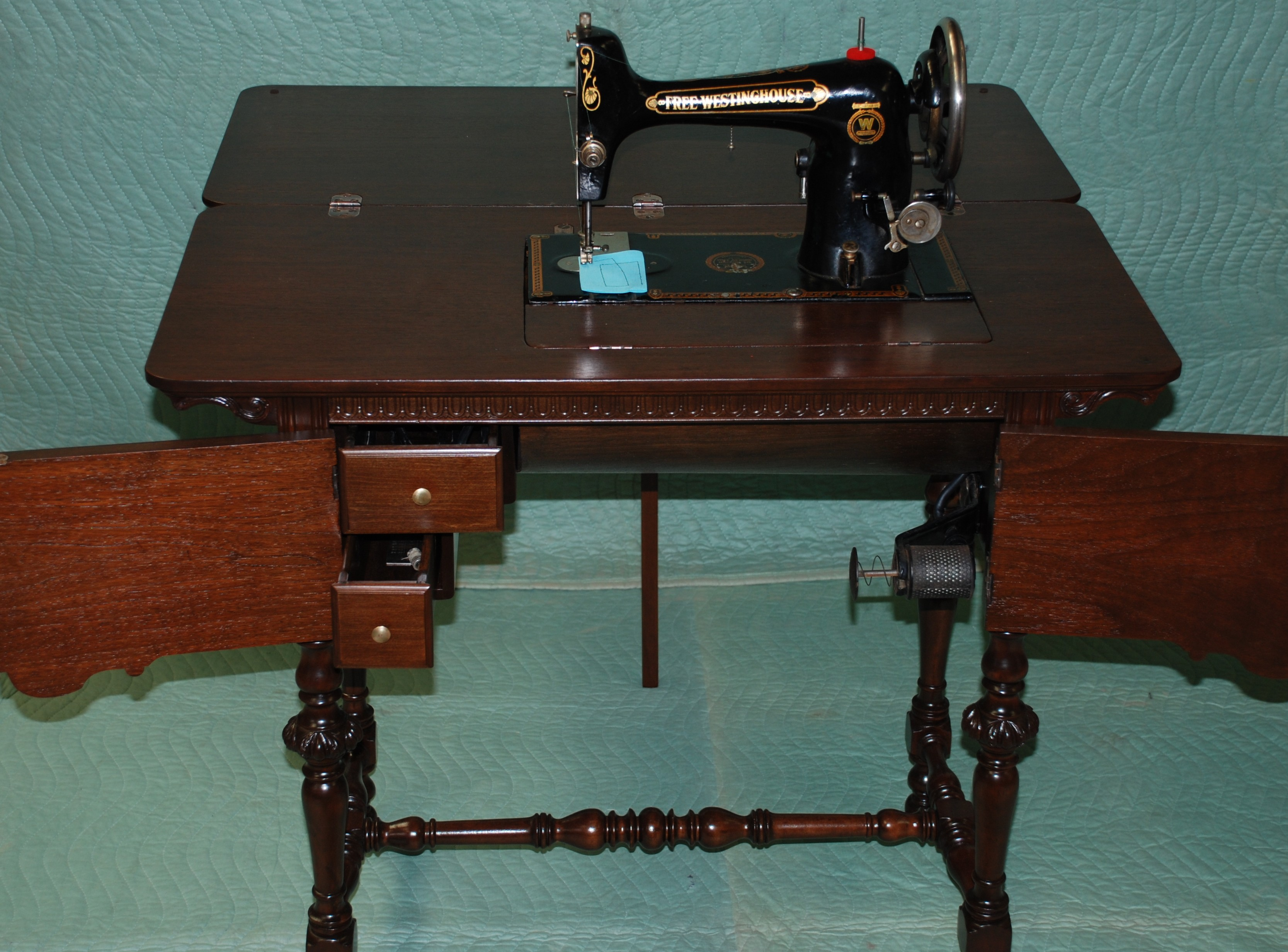 ANTIQUE FREE WESTINGHOUSE SEWING MACHINE