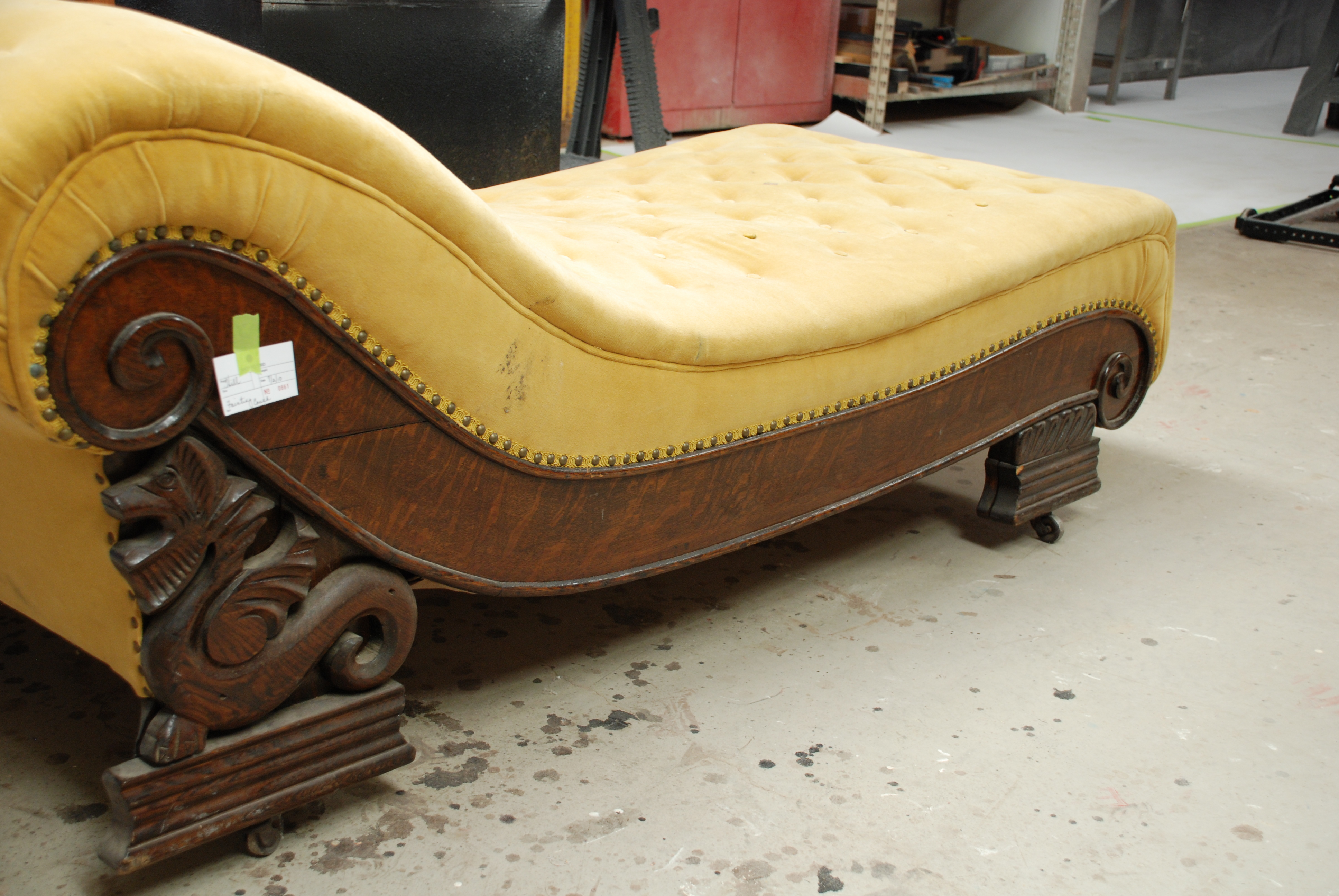 SURPRISE FAINTING COUCH